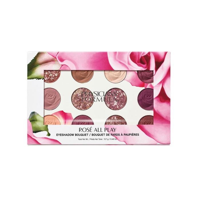 PHYSICIANS FORMULA Палетка теней для век Rose All Play Eyeshadow Bouquet, тон: роза, 13.7 г