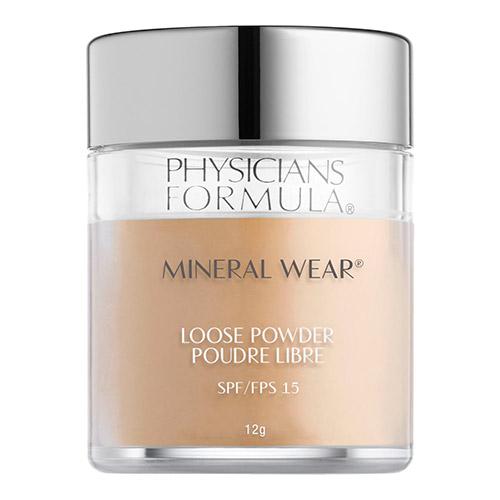 PHYSICIANS FORMULA Пудра рассыпчатая минеральная Mineral Wear Loose Powder SPF 15.тон: прозрачный. 12г