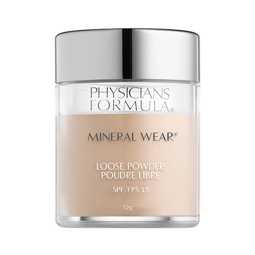 PHYSICIANS FORMULA Пудра рассыпчатая минеральная Mineral Wear Loose Powder SPF 15.тон: кремовый натуральный. 12г
