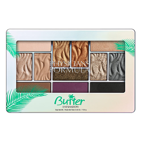 PHYSICIANS FORMULA Палетка теней Butter Eyeshadow Palette.тон: знойные ночи.15.6г